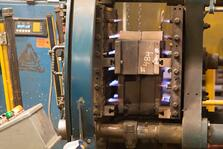 How shell molding works - Heating a corebox - Eagle Alloy