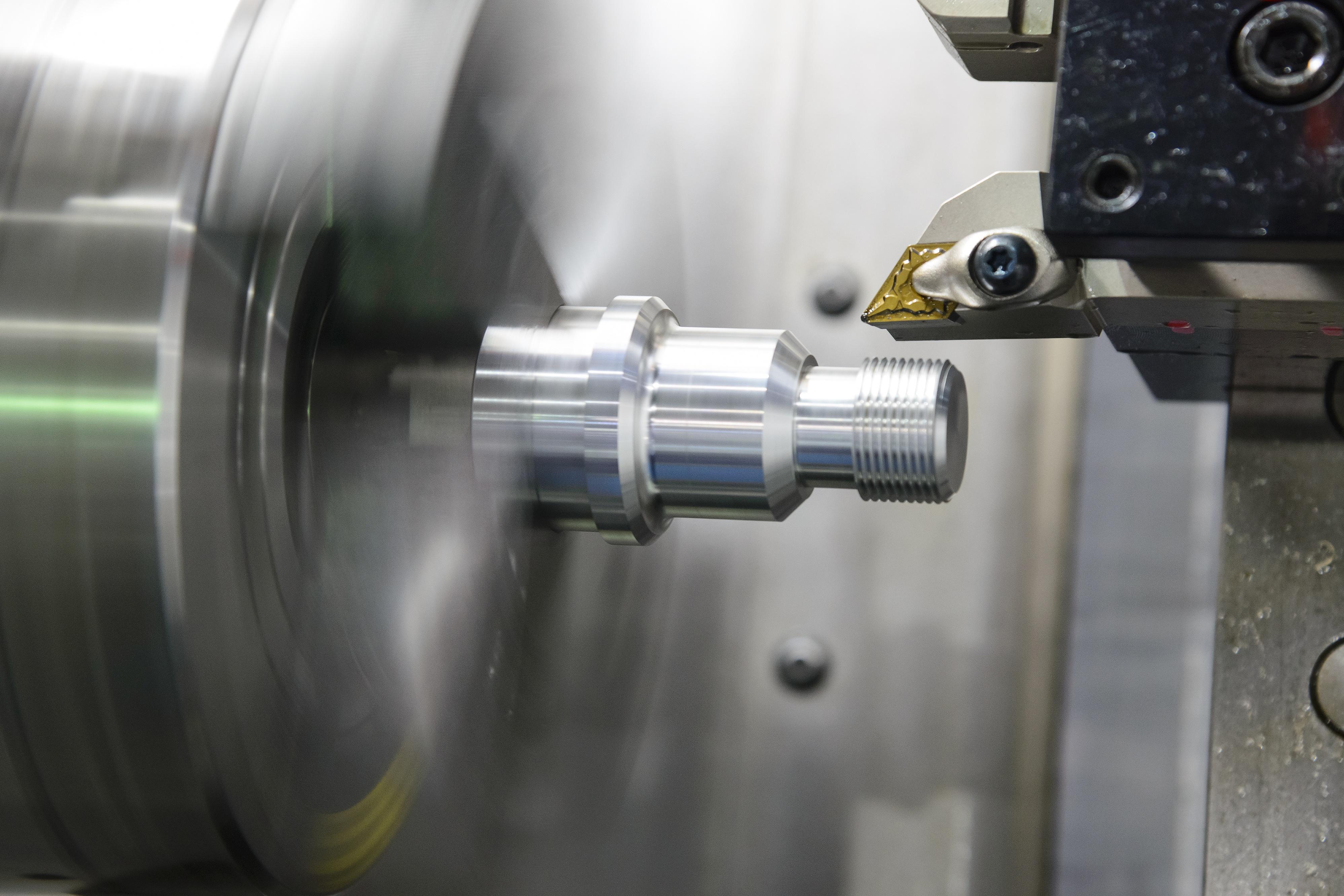 CNC Lathe - What CNC Machine Shops Do - Turning