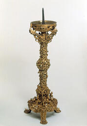 Gloucester Candlestick: an elaborate example of investment casting from the Middle Ages