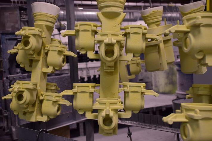Investment Casting - Pattern Trees Drying
