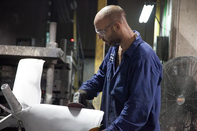 采用精益生产原则-Eagle Aluminium Casting Parts