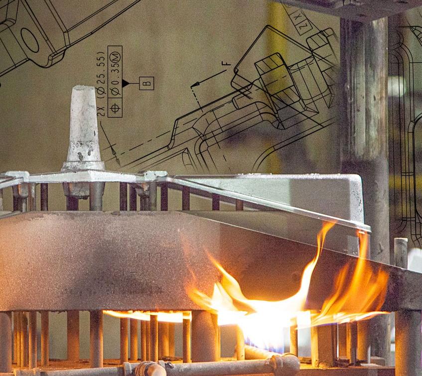 aluminum - permanent mold casting