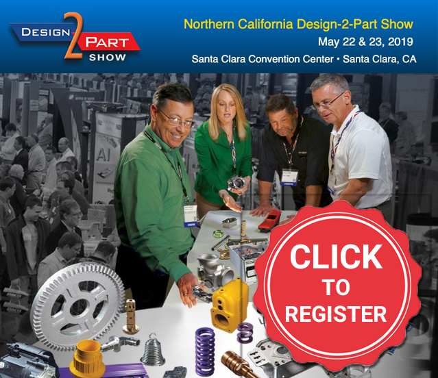 Register for the Northern California Design-2-Part Show