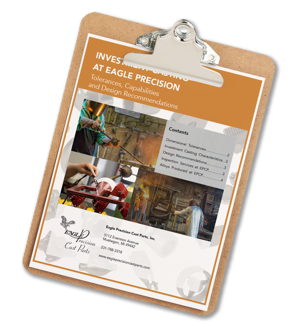 Investment Casting Quick Reference Guide - Eagle Precision