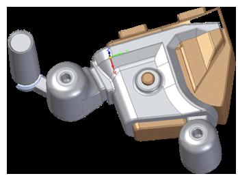 Solid Edge 3D casting model - Eagle Alloy