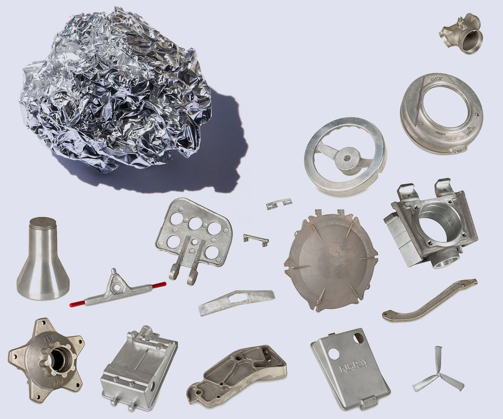 Aluminum cast parts (Eagle Aluminum Cast Products)