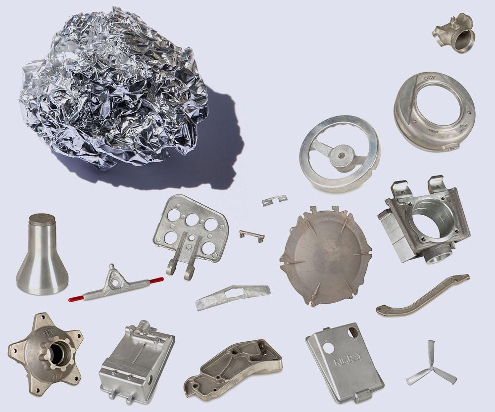 Aluminum cast parts (Eagle Aluminum Cast Products)