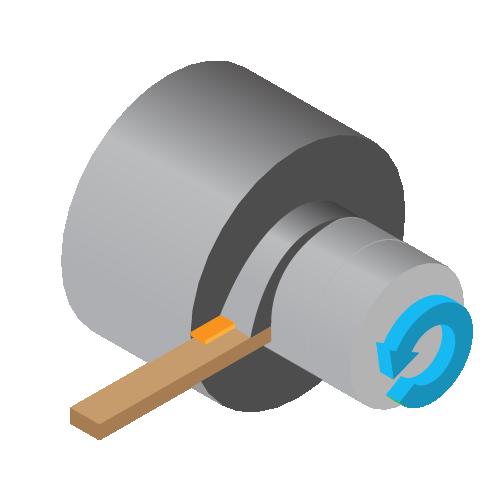 CNC Turning - Illustration