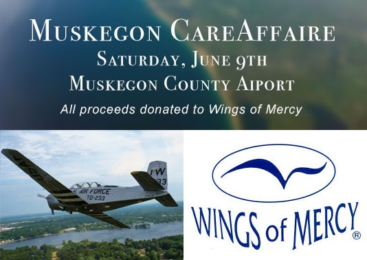 Wings of Mercy - Muskegon CareAffaire, Saturday June 9th